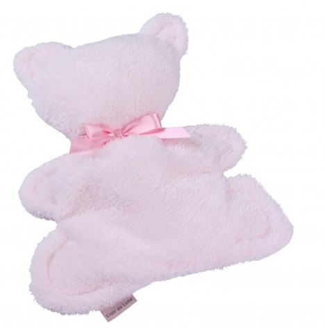 Clair de Lune Mine to Keep Plush Bear Comforter - Pink